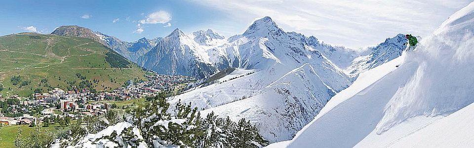 Sípálya Franciaországban: Les Deux Alpes