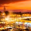 Városnézés Marokkóban
