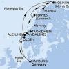 Hajóút Norvégiában