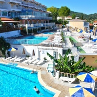 Hotel Commodore *** Zakynthosz, Argassi