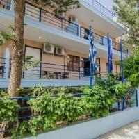 Emilia apartmanház - Kréta, Rethymno Repülővel