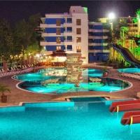 Hotel Kuban **** Bulgária, Napospart