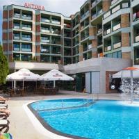 Hotel Aktinia *** Napospart