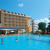 Hotel Baikal *** Burgasz, Napospart