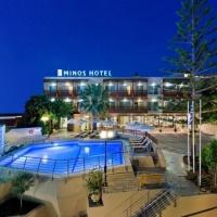 Hotel Minos **** Kréta, Rethymno