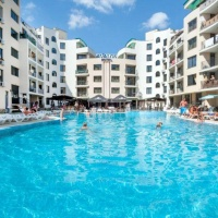 Hotel Avalon Sunny Beach **** Napospart