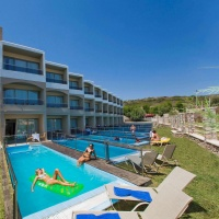 Hotel Lutania Beach **** Rodosz, Kolymbia