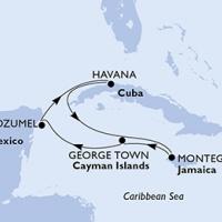 Kubai ritmusok Repülős hajóút Magyar idegenvezetővel! MSC Armonia