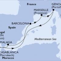 Gibraltáron keresztül az Atlanti-partra